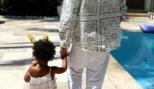 Bleu Ivy Carter Instagram Photos 2014: Actions Beyonce Photos de Fille Bleu et Jay Z