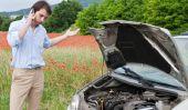 Enlever l'huile de la route - de sorte que vous négociez avec une perte d'huile