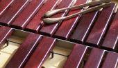 Jouer instruments Orff - la façon de jouer du xylophone