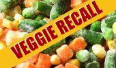 Rappel Nationwide en raison de Shards verre en légumes surgelés