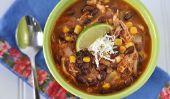 Soupe au poulet Enchilada via soupe Swap 2011