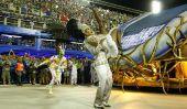 Rio de Janeiro, au Brésil Carnaval 2015 Faits: Top école de samba Beija-Flor accusé d'avoir reçu de 3M $ De controversé Guinée équatoriale