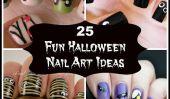 25 Fun Halloween Nail Art Idées