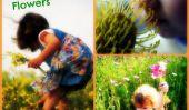 Flower Power!  Les enfants et leurs Springtime Fleurs (PHOTOS)