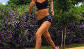 Rachel Hollis: modèle de bikini avec Dehungsstreifen - Instagram étoile