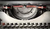 Installez des rubans pour machines à écrire anciens - donc réussit de