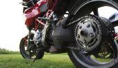 chaîne de moto rouillée - donc vous remède