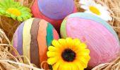 Décoration de Pâques artisanat - une bonne idée