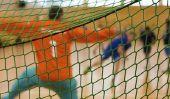 Jeux d'échauffement avant le Handball