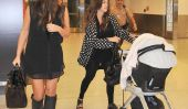 Kourtney, Kim Kardashian Khole & Take Penelope & Mason à Miami!  (Photos)
