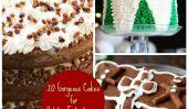 20 magnifiques gâteaux pour Holiday Entertaining