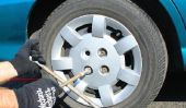 Pneu rouillé - donc desserrer les écrous de roue