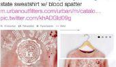 Urban Outfitters: Shitstorm pour Sweatshirts éclaboussures de sang