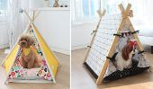 Adorable Pet Tente tipi indien