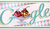 Le Doodle Google Ice Cream Sundae commémore le 119e anniversaire