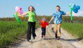 L'anniversaire des enfants - pour les tâches de chasse au trésor créative