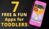 7 Fabuleux et Applications gratuites pour tout-petits