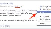 Nouveau Facebook Status Editer la fonction - Outil Handy ou abusif?