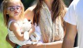 Alessandra Ambrósio Has A Dilemma Pet avec sa fille