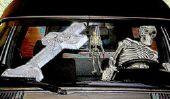 Comme ce que vous pouvez habiller pour Halloween?  - Étape par étape à l'horreur zombie nonne