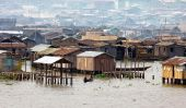 Makoko, un bidonville flottant au Nigeria