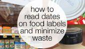 Arrêtez de perdre l'alimentation!  Conseils pour la lecture des dates sur les étiquettes des produits alimentaires et de Conservation des aliments
