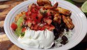 Baja Burrito crevettes Bols