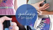 Aller intergalactique!  10 Fashions bricolage Galaxy + de métiers