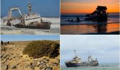Les naufrages de Skeleton Coast, Namibie