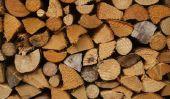 Construire des abris en bois pour le bois de chauffage vous
