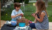 Berry Picking avec les enfants: Comment congeler des fraises