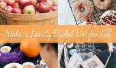 Comment faire un Bucket List famille Cet automne