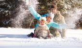Chicago Blizzard 2011: Façons de garder les enfants occupés dans une tempête de neige