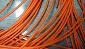 Utilisation fibre optique pour le réseau - de sorte qu'il est possible avec les guides d'ondes optiques