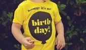 Tees d'anniversaire pour les Cool Kids