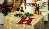 15 Facile Emballage cadeau DIYs