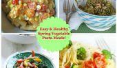 10 Easy et des repas sains Légumes Pâtes