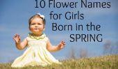 10 noms de fleur pour bébé filles nées au printemps