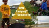 """La haine Camper avec des enfants?  Essayez """"Uncamping"""" lieu"""
