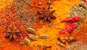 Décoration de table indienne - comme vous servez de la nourriture de l'Inde efficacement