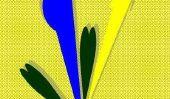 Mélanger vert foncé - si vous créez votre propre couleur du mur