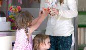 Drew Barrymore Baby Names Olive: 8 étoiles qui a nommé leurs enfants après les aliments!  (Photos)