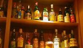 Utilisez Jägermeister bouteille comme décoration originale - suggestions