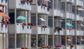 Pare-soleil pour balustrades de balcon - il vous faut payer