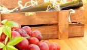 Caisses à vin - donc vous construire une étagère pour les toits en pente