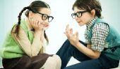 Politique de parler avec les enfants