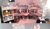 Nursery Tour: 8 Idées pour un nouveau, moderne, Nursery bricolage
