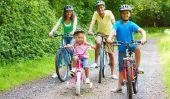 essai de vélos - préparer essai avec votre enfant