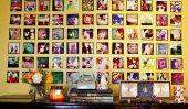 10 façons cool pour afficher les photos dans votre maison