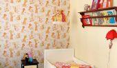 20 incroyable Chambres d'enfants avec du papier peint Idées